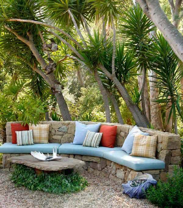 Arredare il giardino con pietre e sassi 20 idee per for Idea giardino
