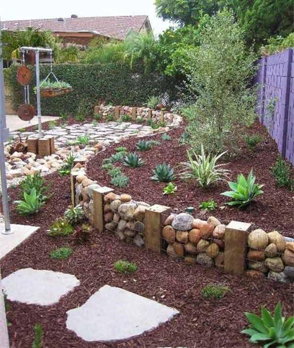 Ben noto Arredare il giardino con pietre e sassi! 20 idee per ispirarvi CC71