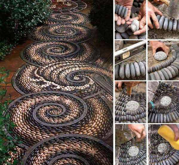 Famoso Arredare il giardino con pietre e sassi! 20 idee per ispirarvi XP77