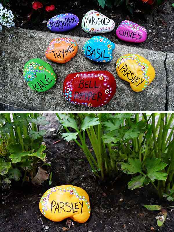 Decorate The Garden With Rocks And Stones U2013 Idea # 6