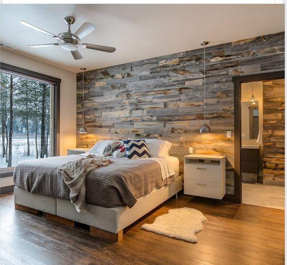 Decorare la parete dietro al letto ecco 20 idee creative for Parete letto