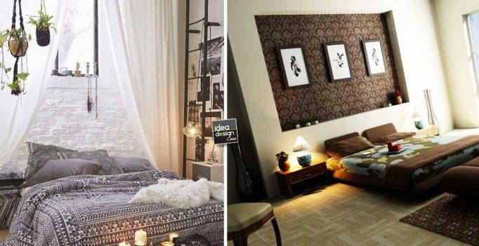 Decorare la parete dietro al letto ecco 20 idee creative for Idee per decorare
