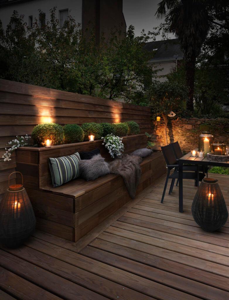 Idee Per Illuminare Un Giardino illuminare il giardino con fantasia, ecco 21 esempi a cui