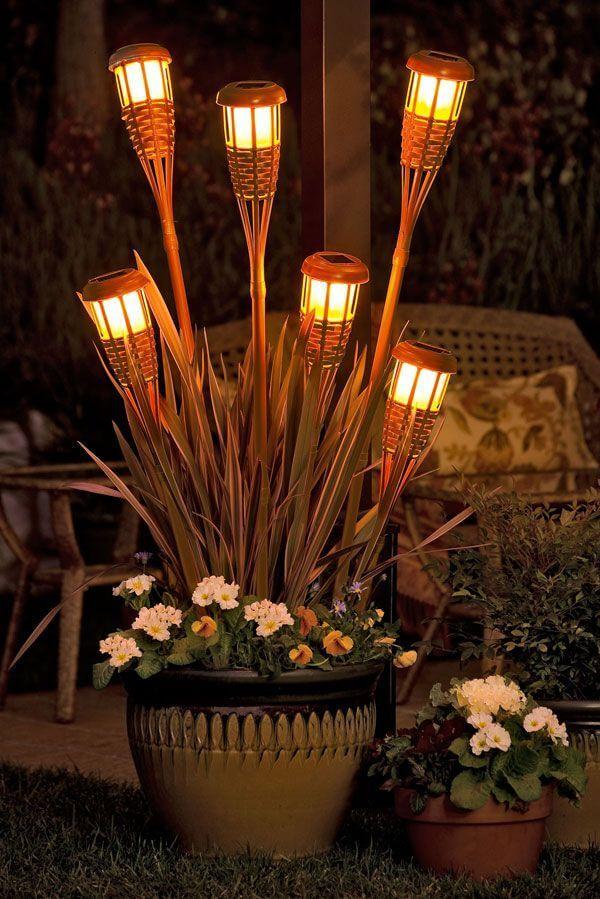 Illuminare il giardino con fantasia ecco 21 esempi a cui - Illuminare il giardino ...