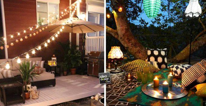 Illuminare il giardino con fantasia ecco 21 esempi a cui ispirarsi - Idee per illuminare casa ...