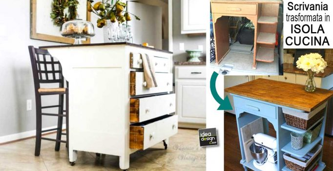 Isola cucina fai da te particolare! 17 idee originali per ispirarvi...
