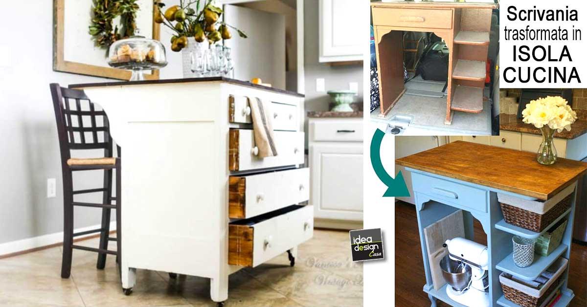 Isola cucina fai da te particolare 17 idee originali per for Mobili cucina fai da te