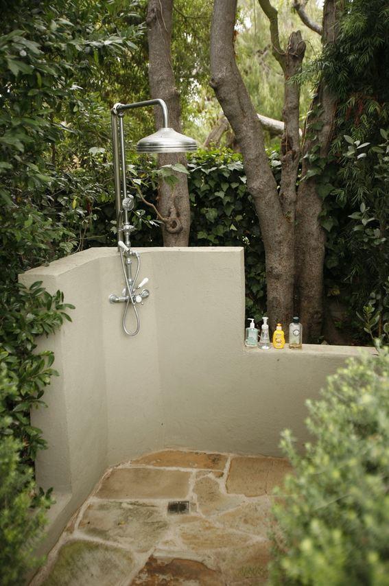 Creare una doccia da esterno