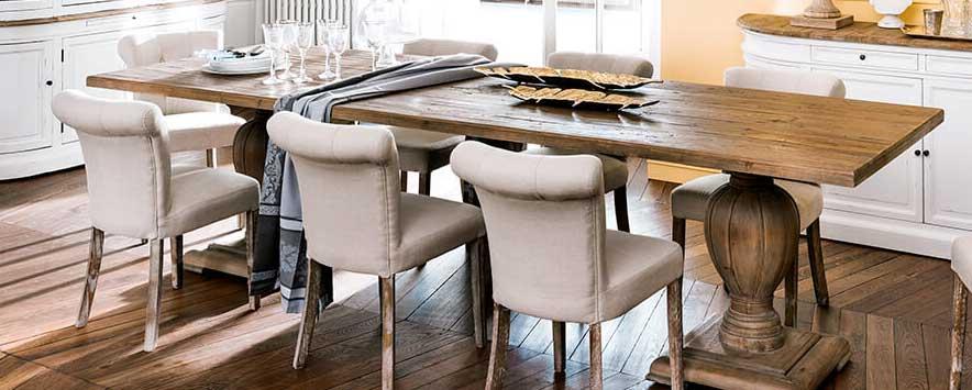arredare la sala da pranzo in stile Classico Chic