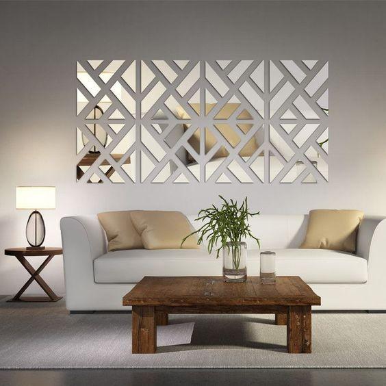 Una composizione originale con gli specchi 20 idee for Decorazione e design