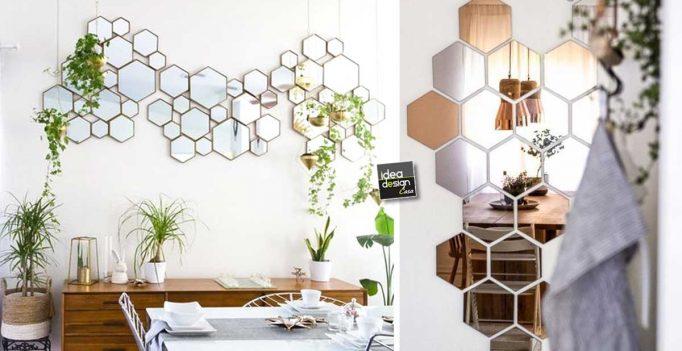 Una composizione originale con gli specchi! 20 idee creative per ...