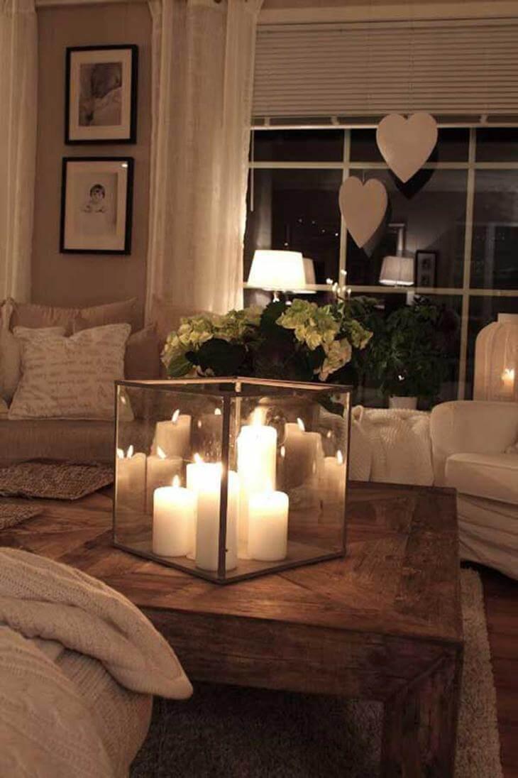 Decorare casa con le candele per aggiungere stile e calore - Decorare casa con candele ...