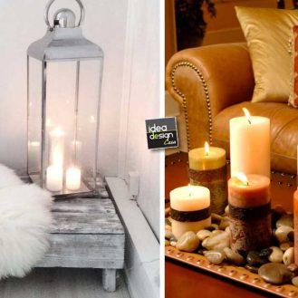 Idee creative per arredare casa su - Decorare casa con candele ...