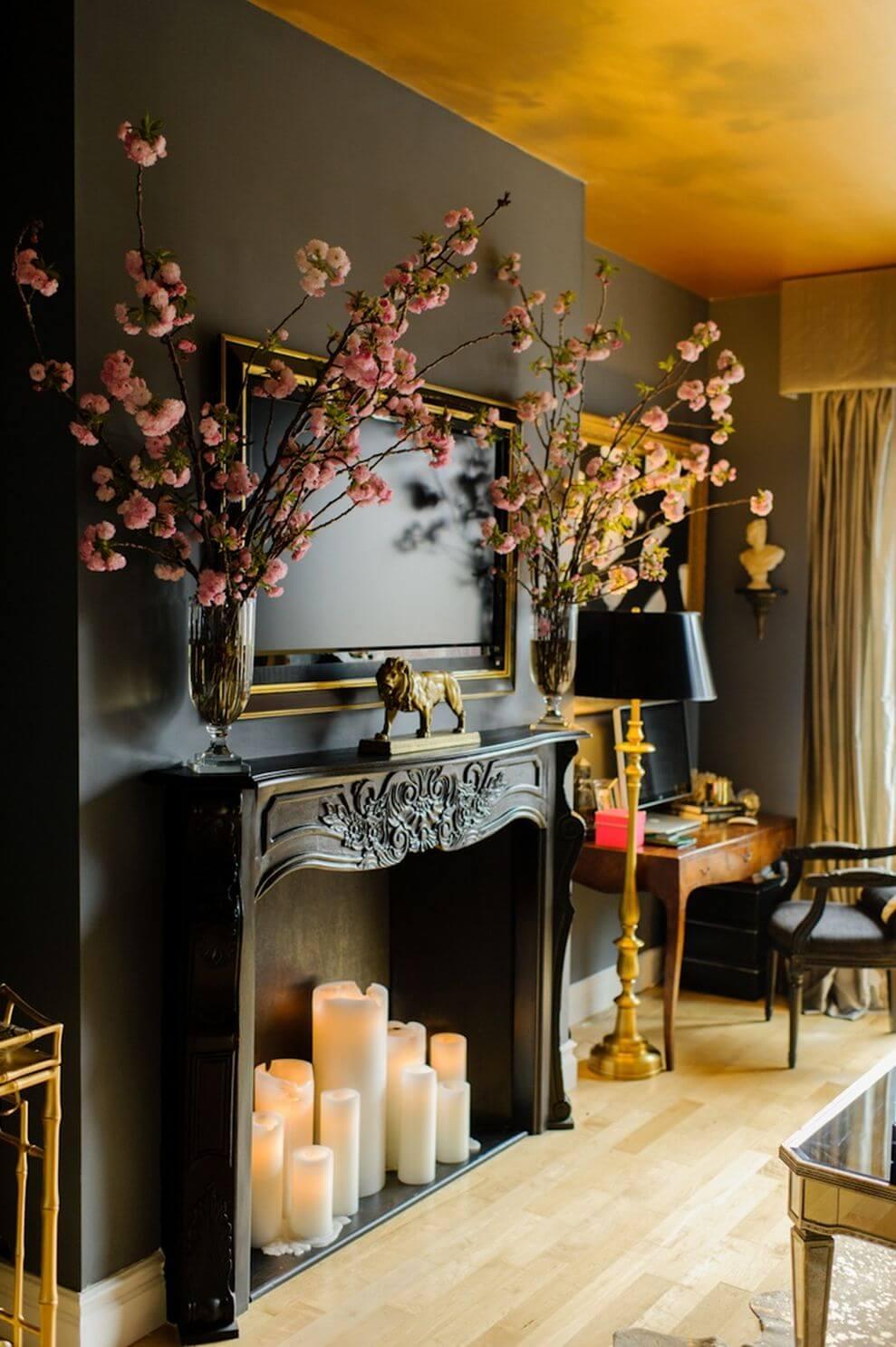 Decorare casa con le candele per aggiungere stile e calore - Idea casa biancheria mestre ...
