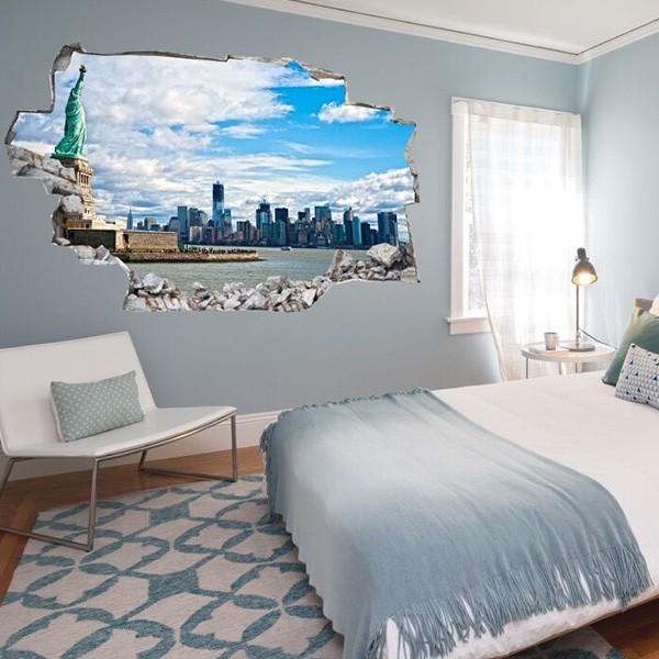 Decorare una parete di casa con gli adesivi murali 3d 20 for Lesara casa
