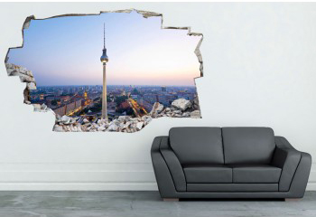 Decorare una parete di casa con gli adesivi murali 3d 20 idee da vedere - Tavole adesive per pareti 3d ...
