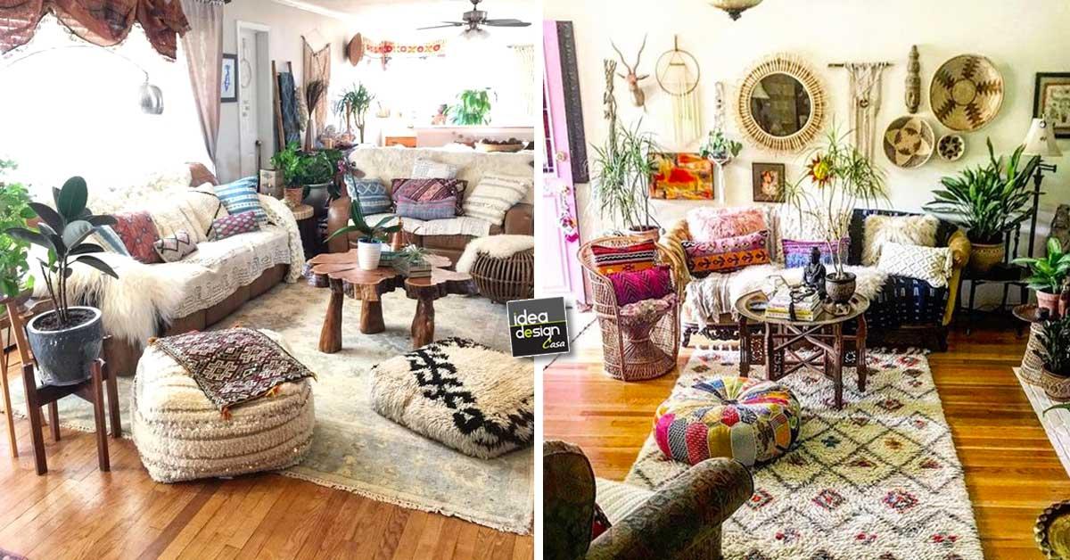 Camere Da Letto Stile Hippy : Decorare casa in stile hippie ecco idee da cui trarre
