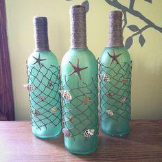 Recuperare Una Bottiglia Di Vetro Per Decorare Casa In Modo Creativo