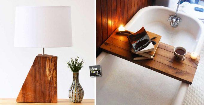 Decorazioni in legno fai da te ecco 15 idee da cui trarre ispirazione - Decorazioni natalizie in legno fai da te ...