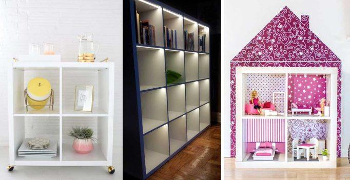 Libreria Da Ufficio Ikea : Ikea hack con la libreria kallax! 20 esempi da cui trarre ispirazione