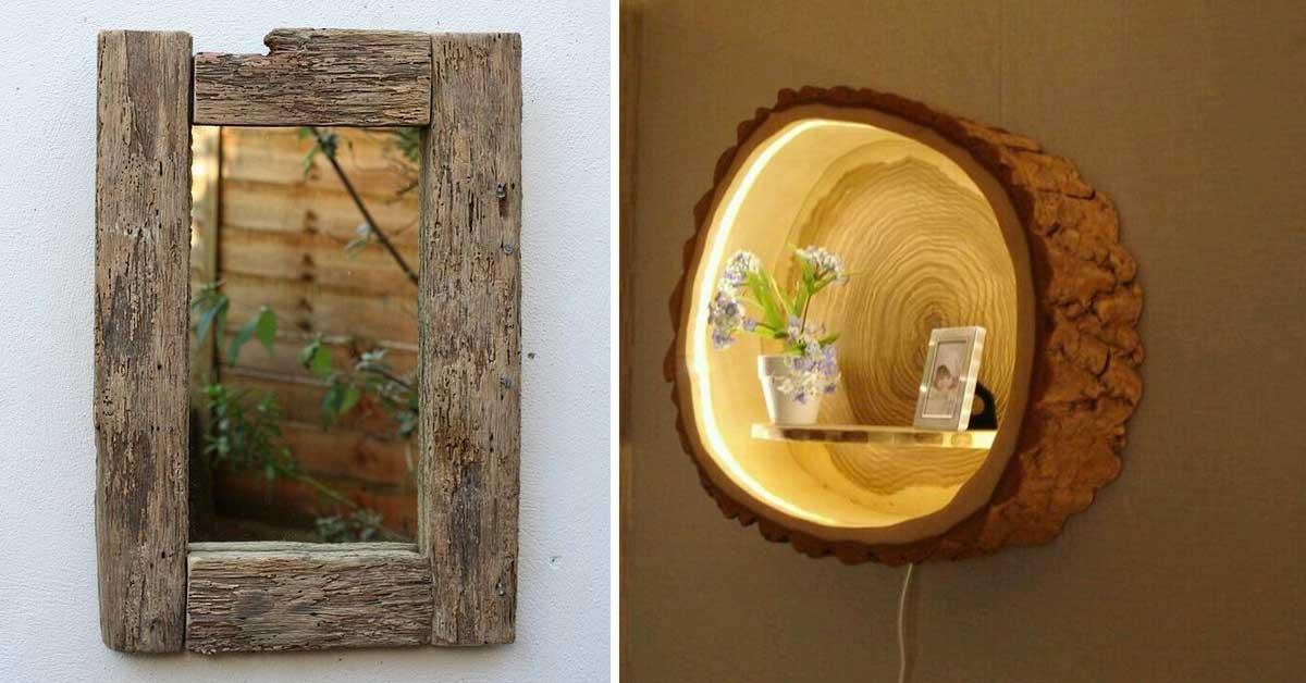 Progetti fai da te da realizzare con il legno ecco 20 for Oggetti in legno fai da te