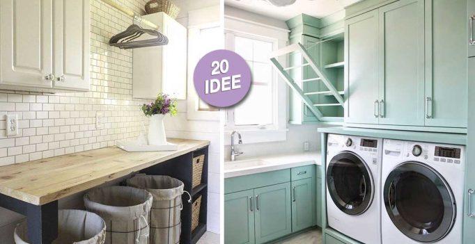 Una Zona Lavanderia In Casa? Eccone 20 Ben Organizzate Per Ispirarviu2026