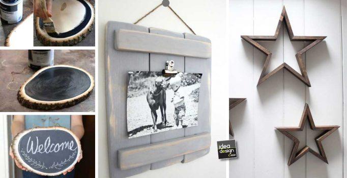 Progetti fai da te da realizzare con il legno ecco 20 idee da fare subito - Bricolage fai da te idee ...