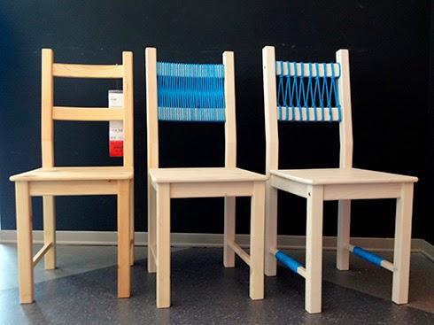 Restyling di una sedia ikea guardate questi 20 bellissimi for Sedie in legno ikea