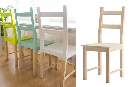Restyling di una sedia IKEA