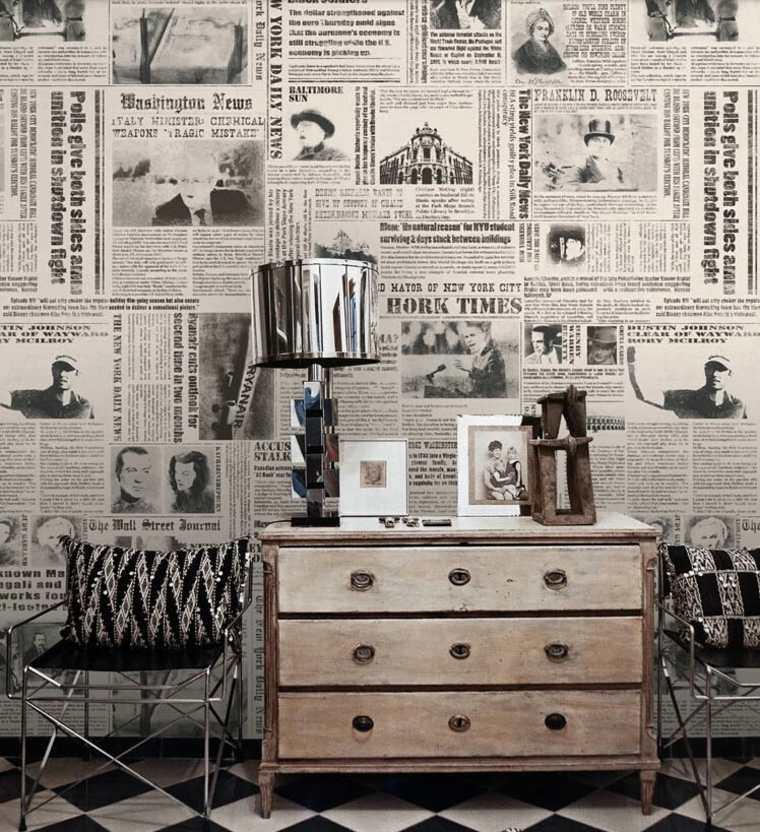 Decorazioni fai da te con i vecchi giornali