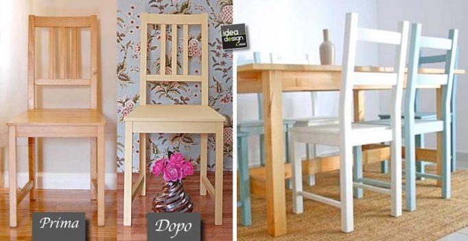 Restyling di una sedia ikea guardate questi bellissimi esempi