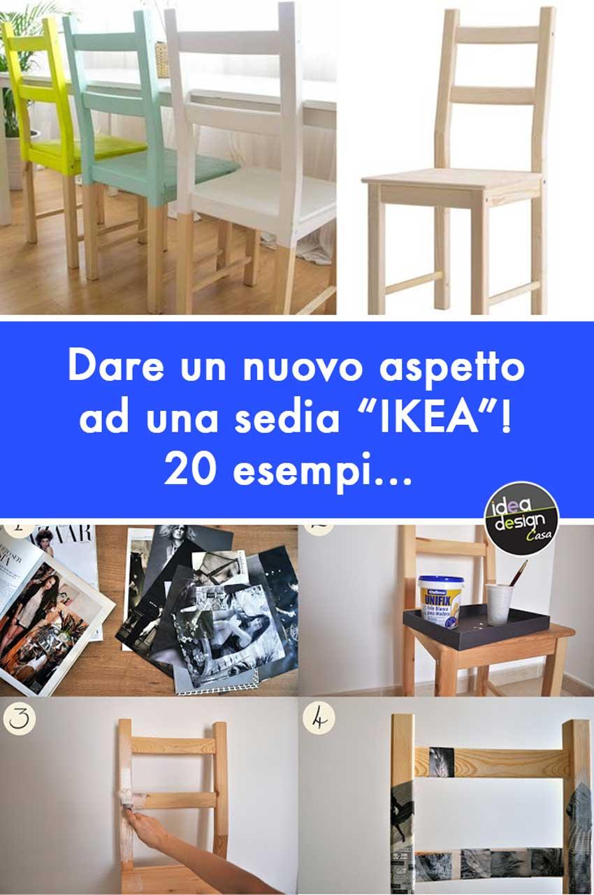 Sedie ikea 20 idee per personalizzare una sedia ikea - Sedie impagliate ikea ...