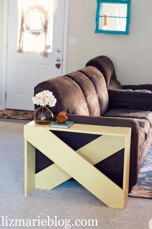 Un tavolino da divano fai da te