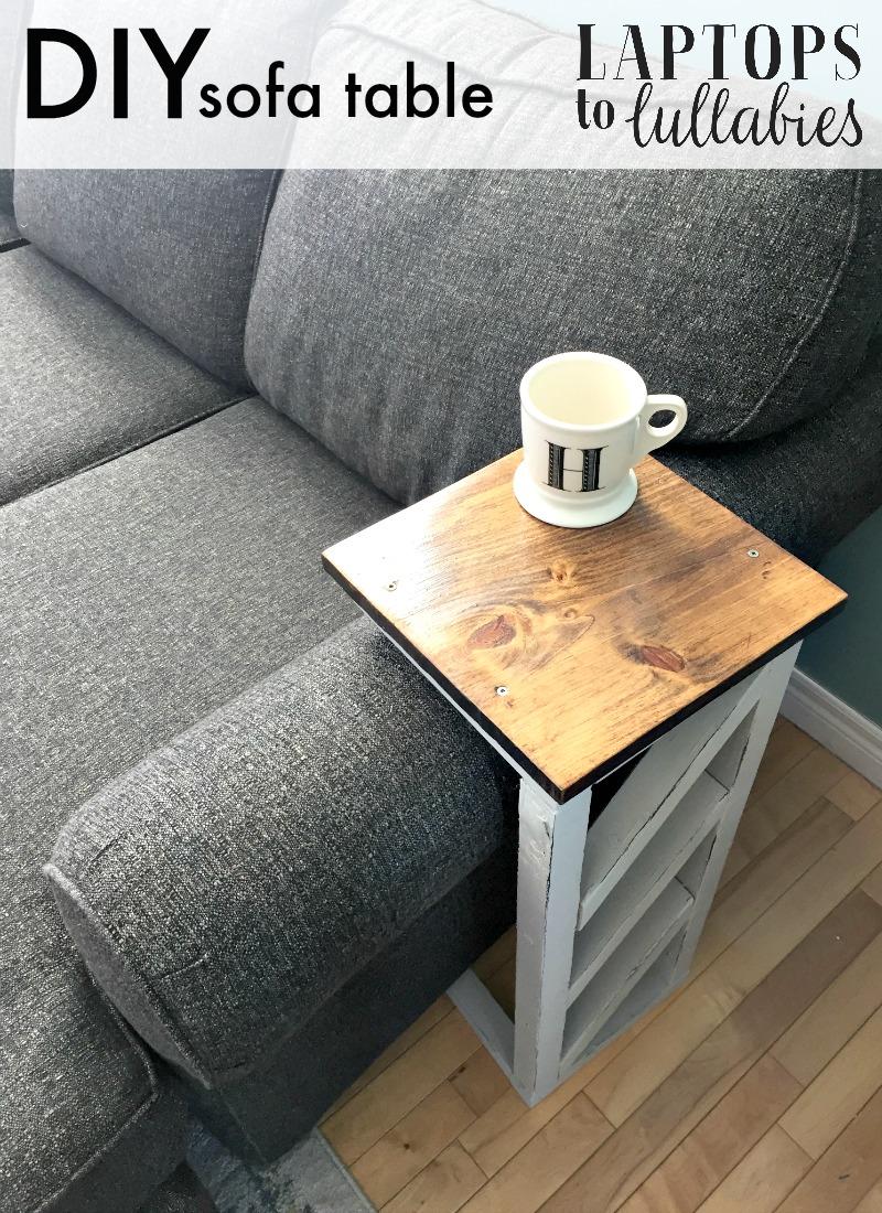 Un tavolino da divano fai da te per un vero momento di relax ...