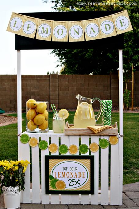 Creare un piccolo bancone delle bibite per una festa in - Creare un piccolo giardino ...