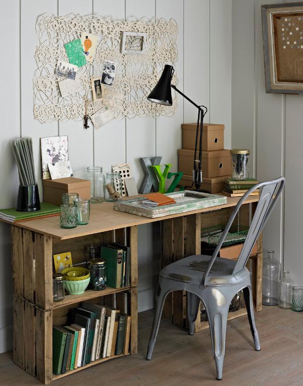 Una scrivania fai da te semplice da realizzare