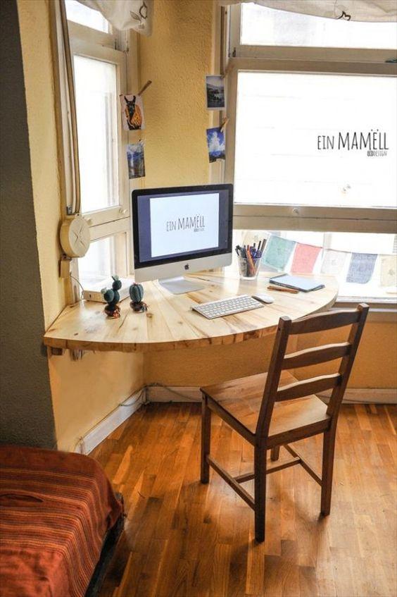 Favorito Una scrivania fai da te semplice da realizzare! Ecco 15 idee  VK45
