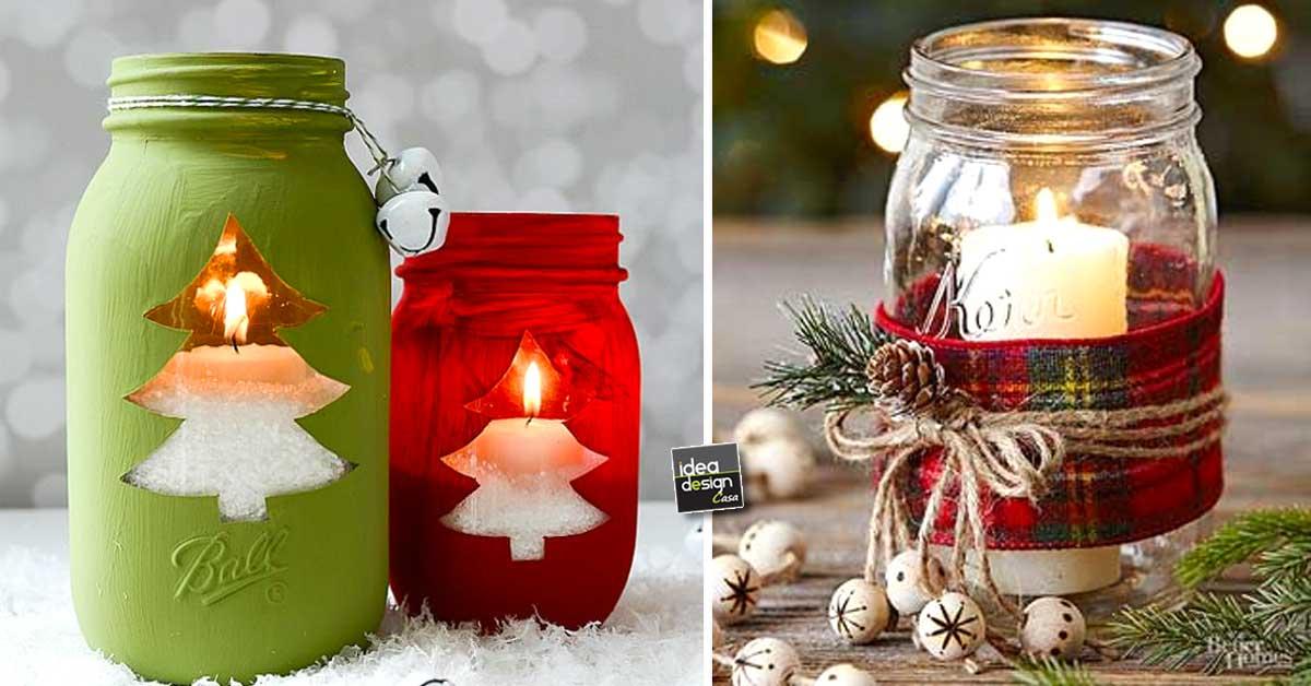 Decorazioni invernali fai da te molto carine per abbellire - Decorazioni vetro ...