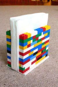 Arredare casa con i mattoncini lego