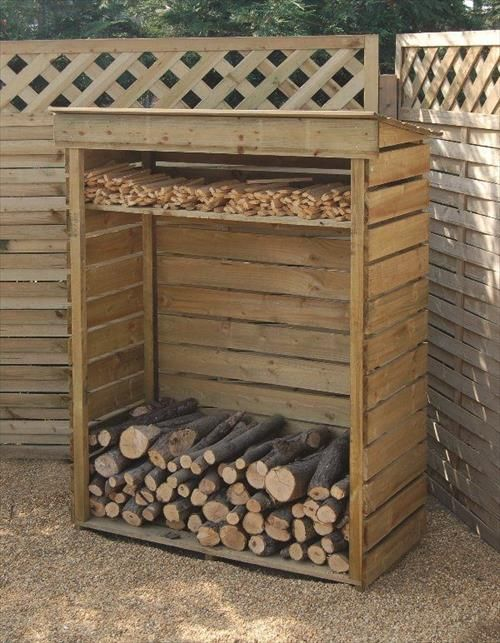 Sistemare la legna in giardino ecco 20 idee fai da te per for Come sistemare la casa