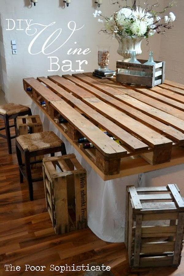 Progetti da realizzare con bancali lasciatevi ispirare da for Progetti in legno da realizzare