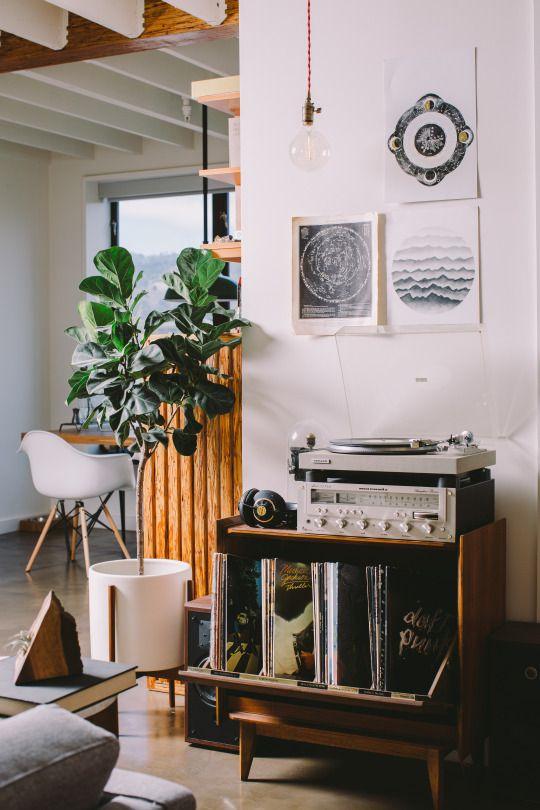 Un Angolo Music Per Decorare Casa Con Un Tocco Vintage 20