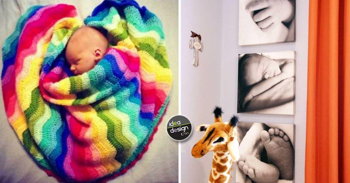 Idee per decorare cameretta neonato idee per decorare le for Decorare la stanza di un neonato