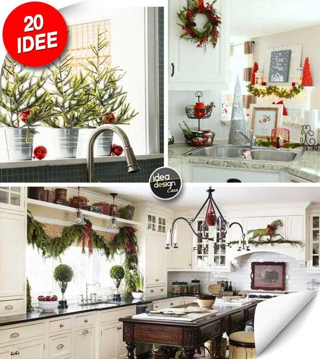 Una decorazione natalizia in cucina ecco 20 idee per - Come decorare la casa ...