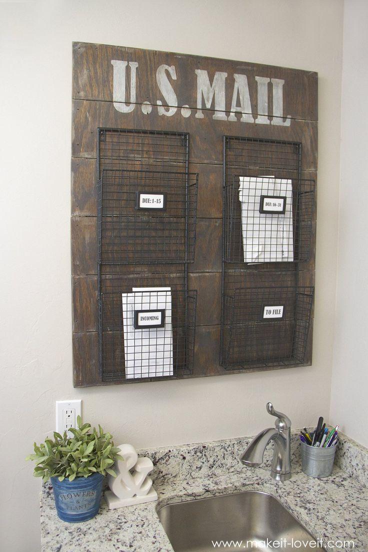 Organizzare documenti e bollette in casa