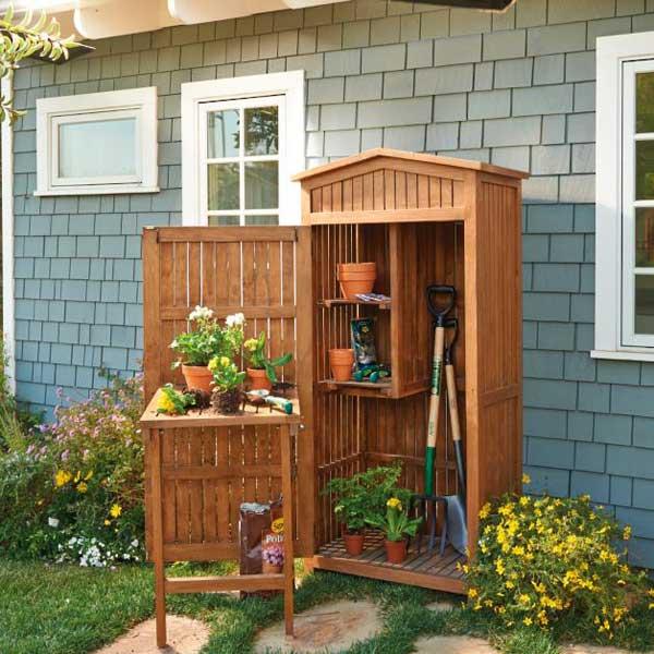 Simple organizzare lo spazio per sistemare tante cose in - Organizzare il giardino ...