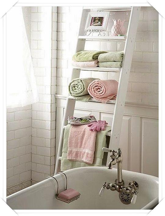 Come sistemare gli asciugamani in bagno