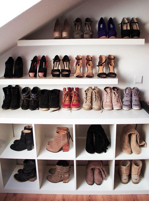 Come sistemare le scarpe in casa