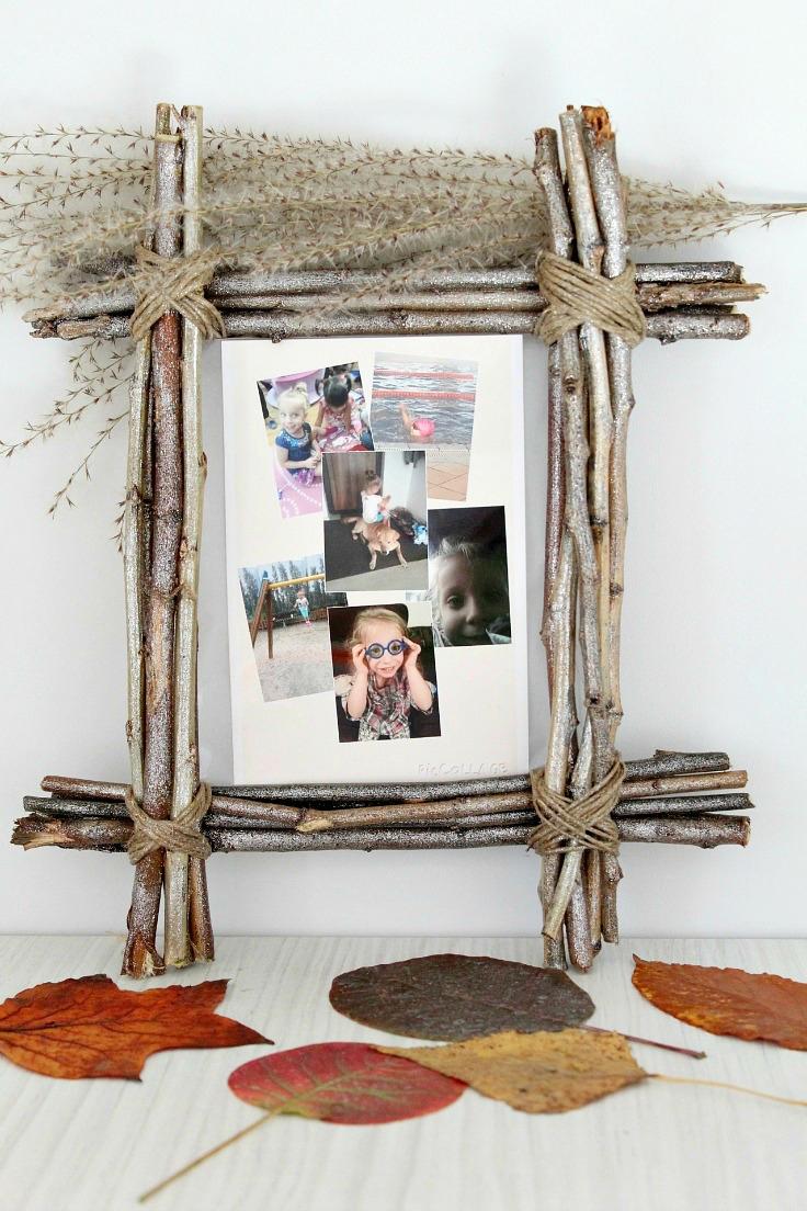 Cornici fai da te originali in legno