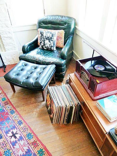 Un coin musique style vintage